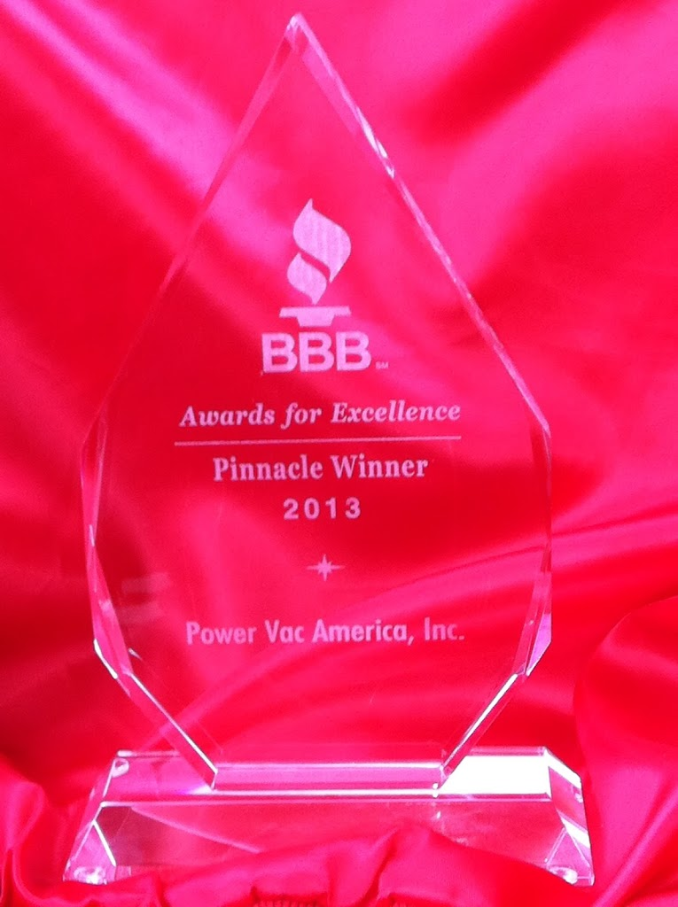 BBB Awards for Excellence – 2013 Pinnacle Winner