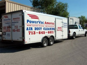 Power Vac America truck