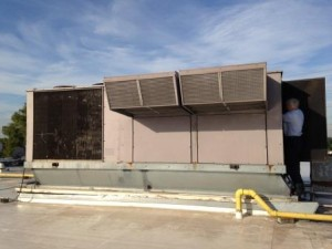 Commercial Air Duct Cleaning Roof Top Unit