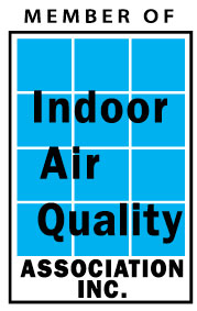 Member of IAQA Logo Indoor Air Quality Association, Inc.