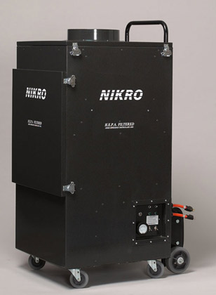 Nikro Portable Collection Vacuum for Commercial Air Duct Cleaning