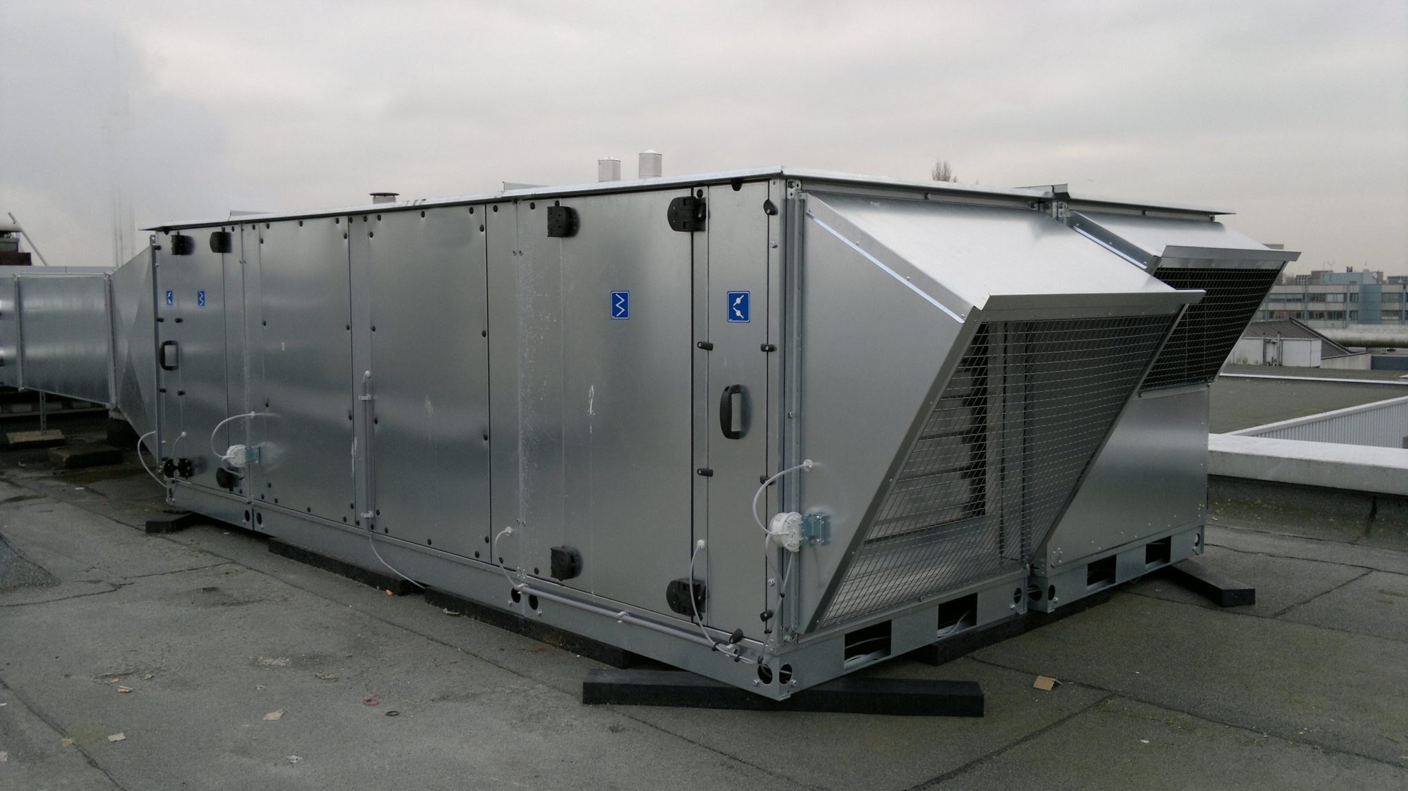 commercial air handler cleaning in Austin, TX