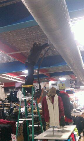 Commercial duct cleaning services in Austin, TX