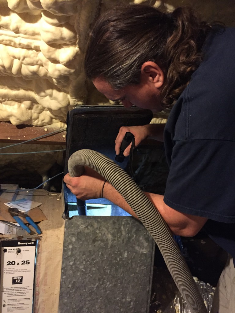 Residential air duct cleaning in Cypress, TX