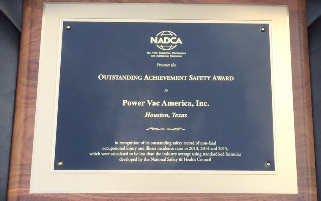How to Win 18 Years of Safety Awards
