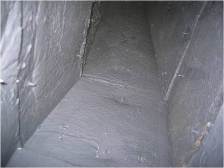 Insulated Ductwork After Cleaning