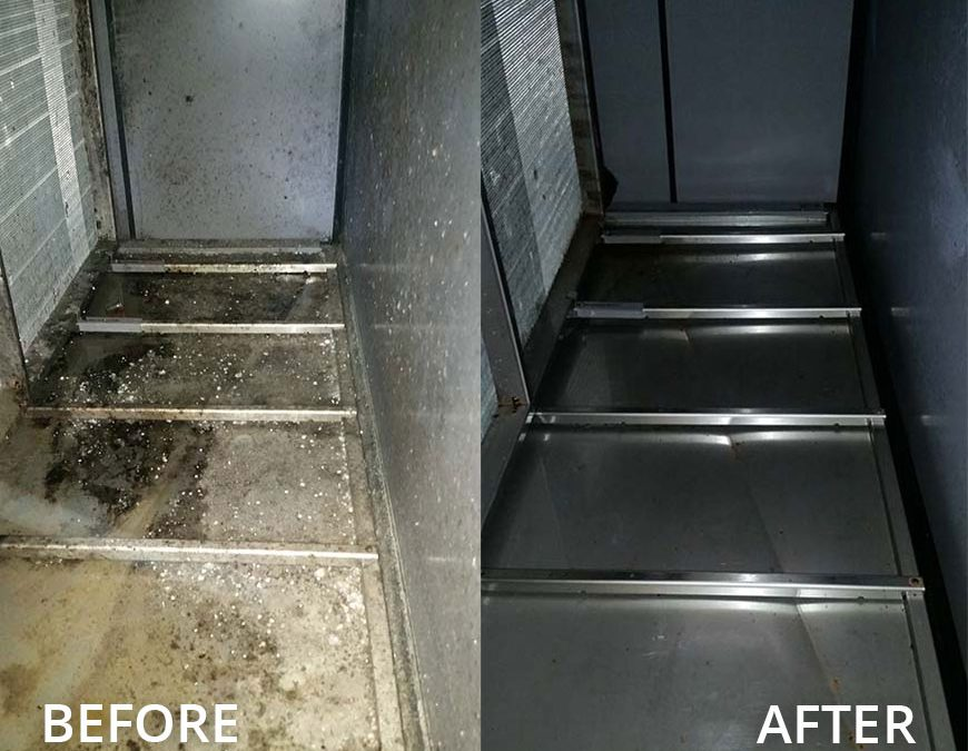 Commercial Air Handler Unit Cleaning in The Woodlands, Sugar Land, Pearland, and all the Surrounding Areas