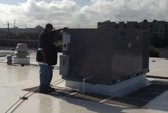 Commercial Air Handler Unit Cleaning in Houston